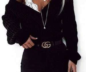 clothes, gucci, and woman image