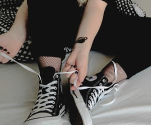 allstars, converse, and dope image