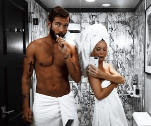 bath, girlfriend, and gorgeous image