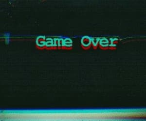 aesthetic, wallpaper, and game over image
