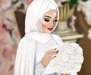 bride, girl, and رَسْم image