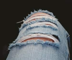 jeans, ripped jeans, and pants image