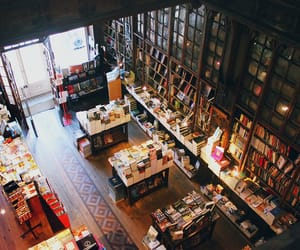 books, bookstore, and cosy image