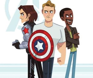 america, Avengers, and captain image