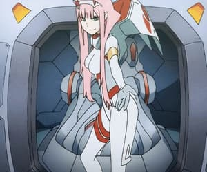 anime, anime girl, and darling in the franxx image