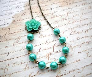beads, fashion, and necklace image