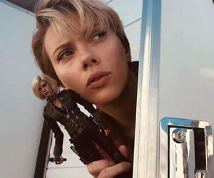 black widow, Scarlett Johansson, and Avengers image