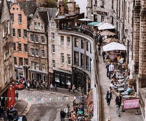 city, scotland, and uk image