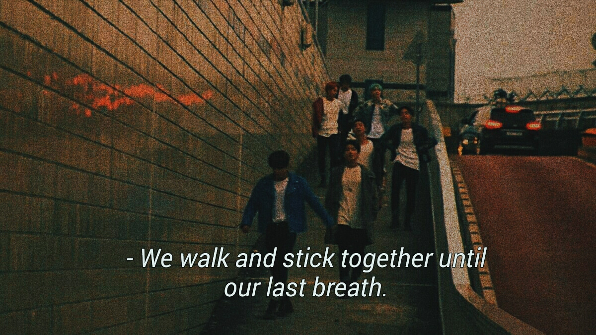 bts run • friendship goals quote • original posted and edited