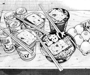 food, manga, and anime image