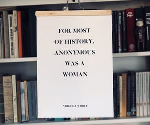 anonymous, history, and virginia woolf image