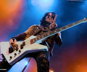 bass, ashley purdy, and bassist image