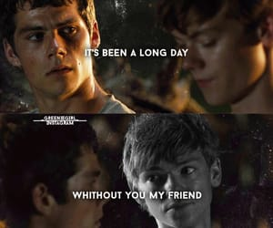 thomas sangster, see you again, and the maze runner image