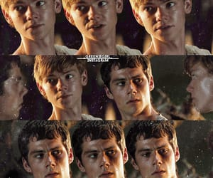 thomas sangster, the maze runner, and dylan obrien image