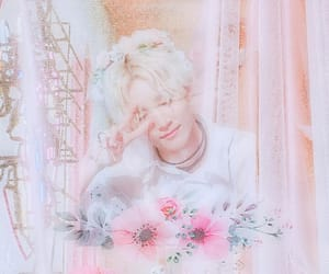 aesthetic, flower, and kpop image