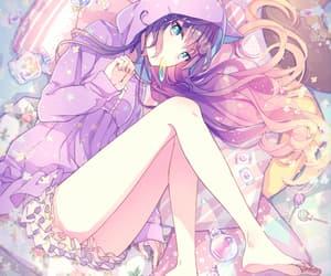 anime, girl, and neko image