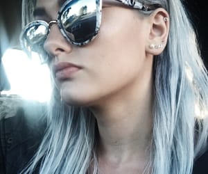 aesthetic, marble, and sunglasses image
