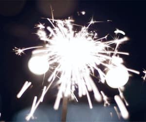 fireworks, gif, and light image
