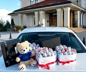 audi, teddy bear, and love image