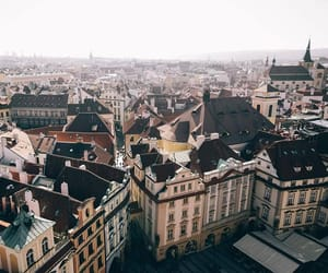 europe, travel, and prague image