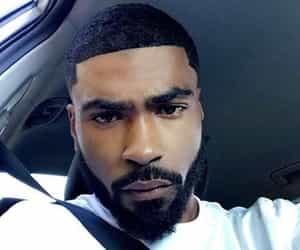 black, handsome, and melanin image