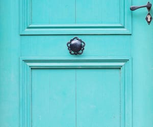 blue, doors, and turquoise image