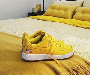 shoes, yellow, and amarillo image