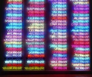 colorful, colors, and neon sign image