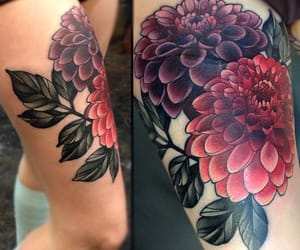 art, flowers, and Piercings image