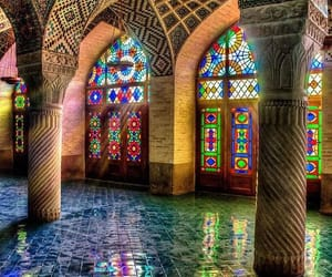 architecture, colors, and mosque image