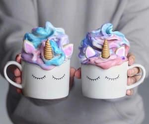 ice cream, inspiration, and unicorn image