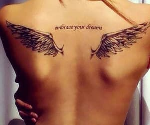 wing, tattoo, and tattoo wing image