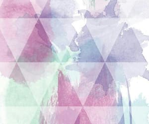 beautiful, geometric shapes, and pastel colors image