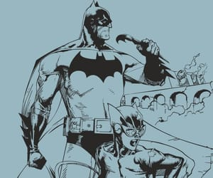 batman and blue image