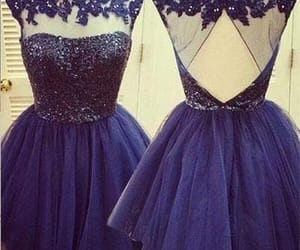 party dress, graduation dress, and short dress image