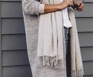 accessories, casual, and coat image