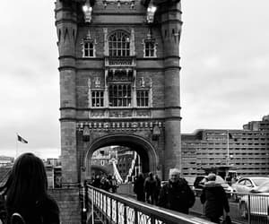 black and white and travel image