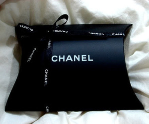 chanel, black, and classy image