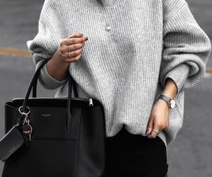 bag, grunge, and outfit image