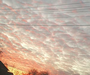 hometown, morning, and sky image