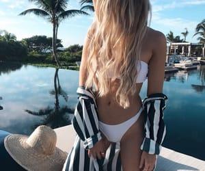 bikini, fashion, and travel image