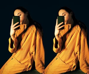black, night, and orange image