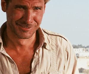 handsome, harrison ford, and Hot image