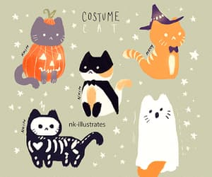 ghost, pumpkin, and witch image