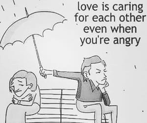 love, angry, and quotes image
