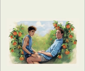 peach, armie hammer, and call me by your name image