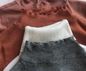 fashion, sweater, and turtleneck image