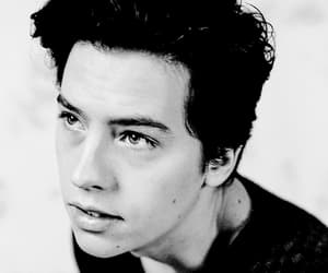 black and white, riverdale, and cole sprouse image