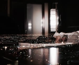 light, city, and night image
