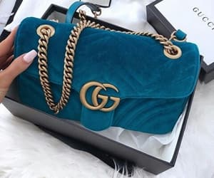 girl, gucci, and handbag image